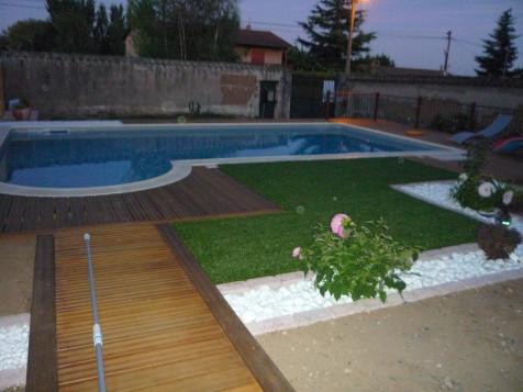 Aménagement abords de piscine SAINT-GEORGES-DE-RENEINS ...
